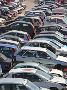 Junkyard Full of Cars