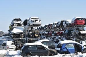 car salvage yard